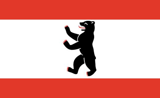 Flagge Berlins