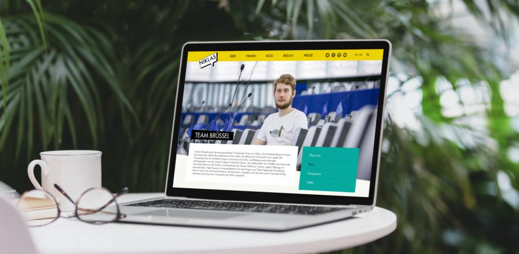Niklas Nienass Webseite